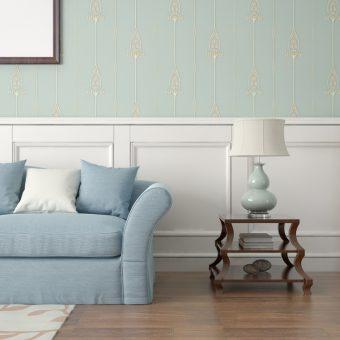 Pomysły na wykończenie ściany w salonie